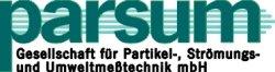 Logo - PARSUM Gesellschaft für Partikel-, Strömungs- und Umweltmeßtechnik mbH