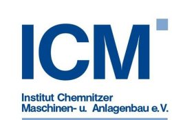 Logo - ICM-Institut Chemnitzer Maschinen- und Anlagenbau e.V.