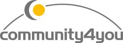 Logo - community4you AG