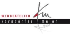 Logo - Werbeatelier Korndörfer & Meier